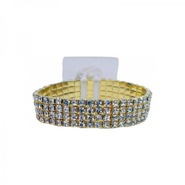 gold diamante wide
